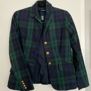 Lauren Ralph Lauren Blackwatch Plaid Blazer